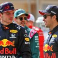Max Verstappen Sergio Perez Red Bull Bahrain 2021