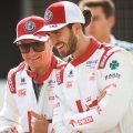 Alfa Romeo Kimi Raikkonen Antonio Giovinazzi