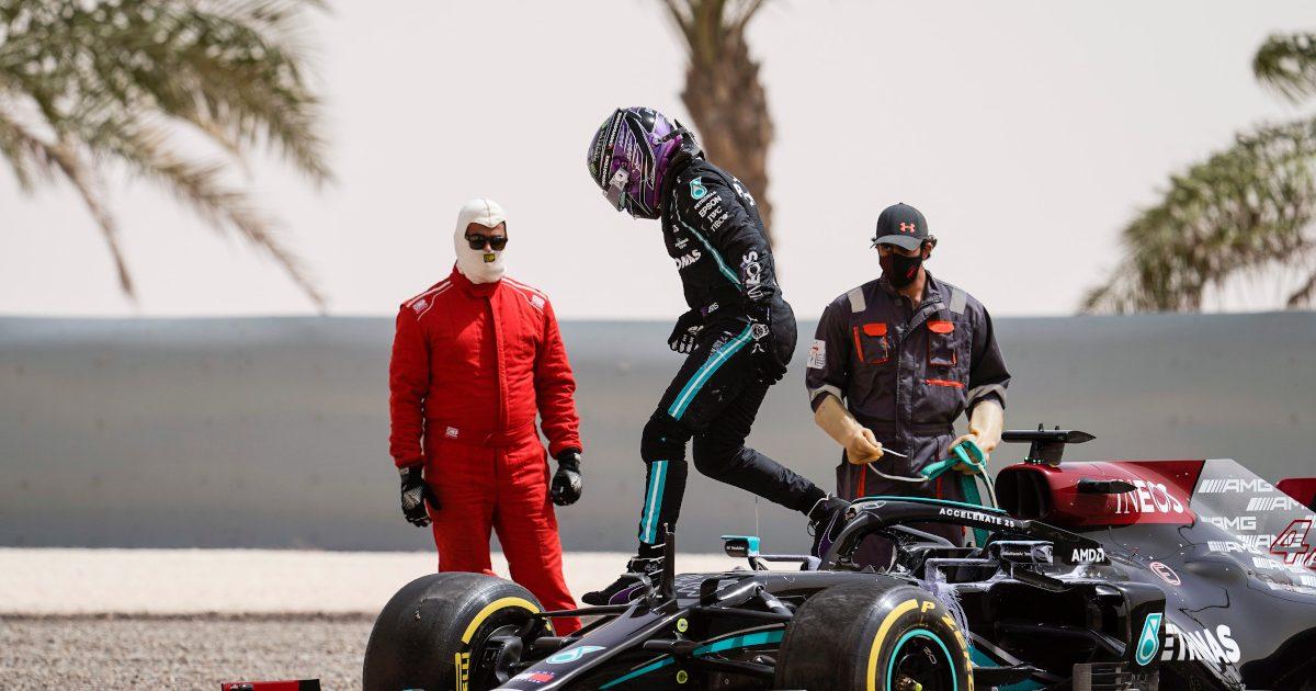 Lewis Hamilton spin