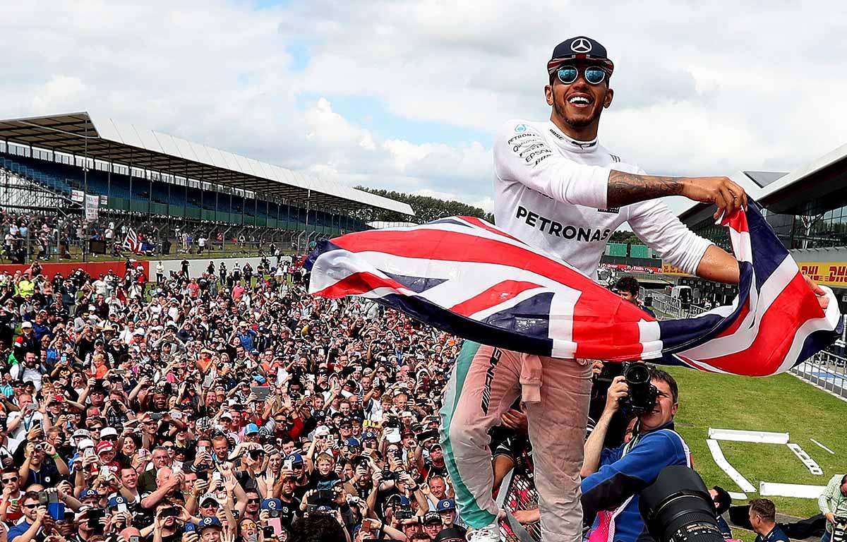 Lewis Hamilton Silverstone PA