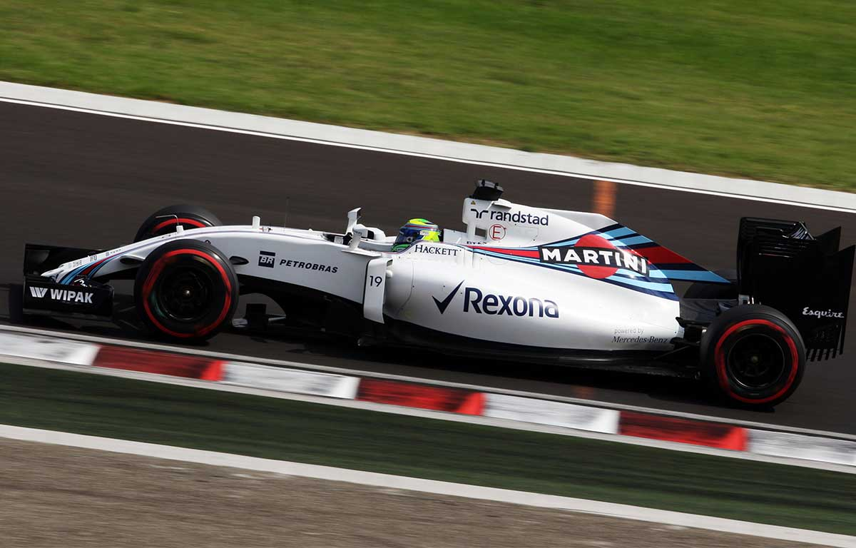 Williams FW38 Felipe Massa PA