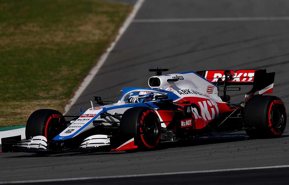 Williams FW43 Nicholas Latifi PA