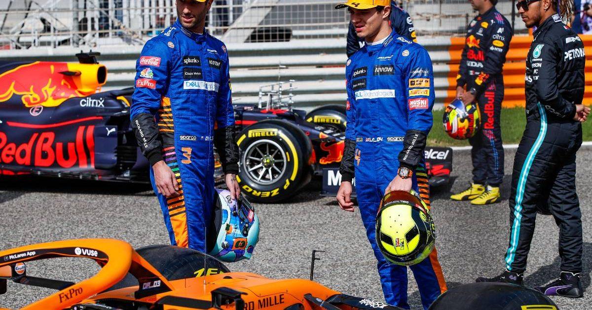 Lando Norris Daniel Ricciardo, McLaren