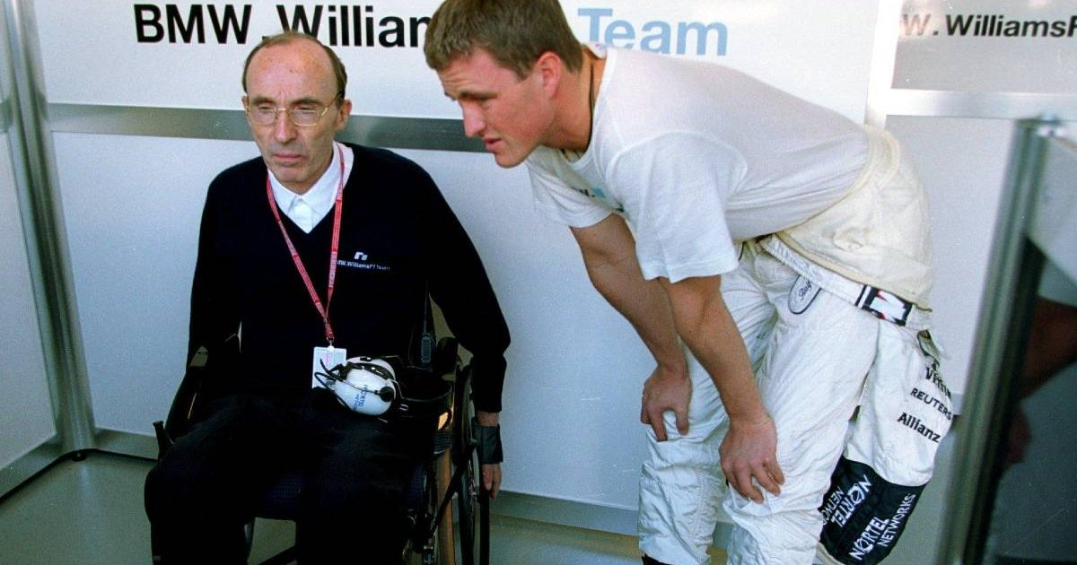 Sir Frank Williams Ralf Schumacher