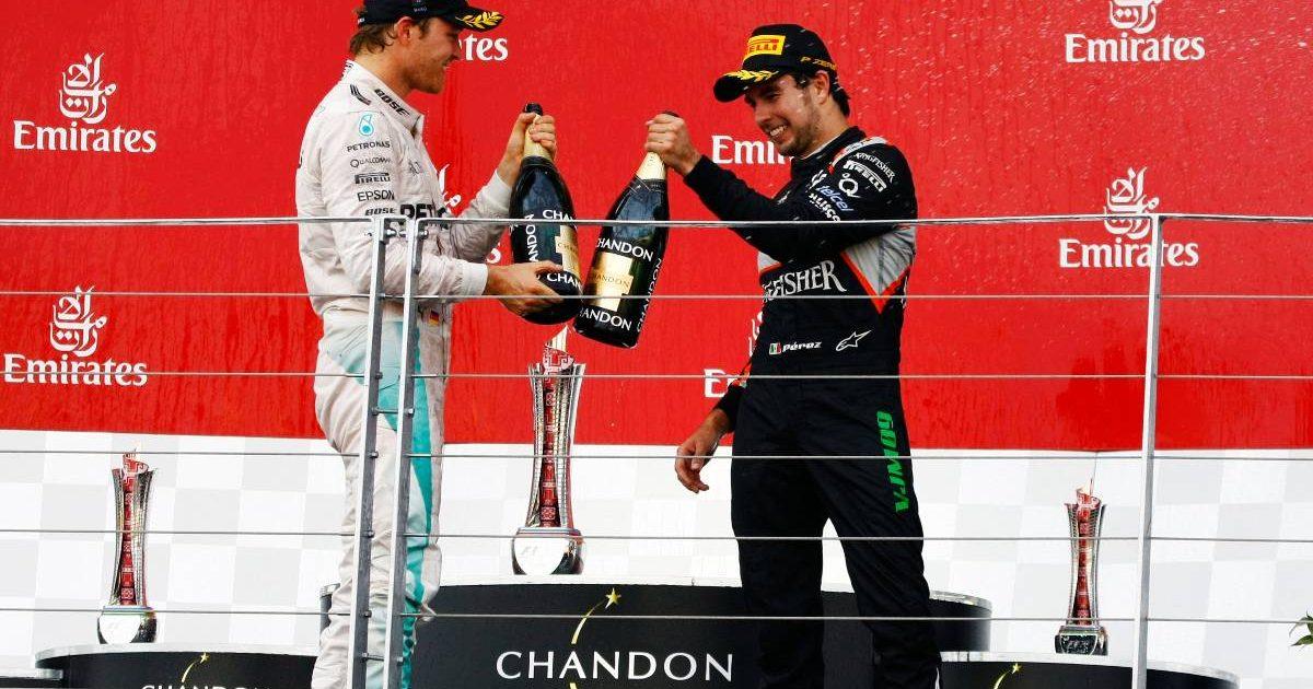 Nico Rosberg Sergio Perez