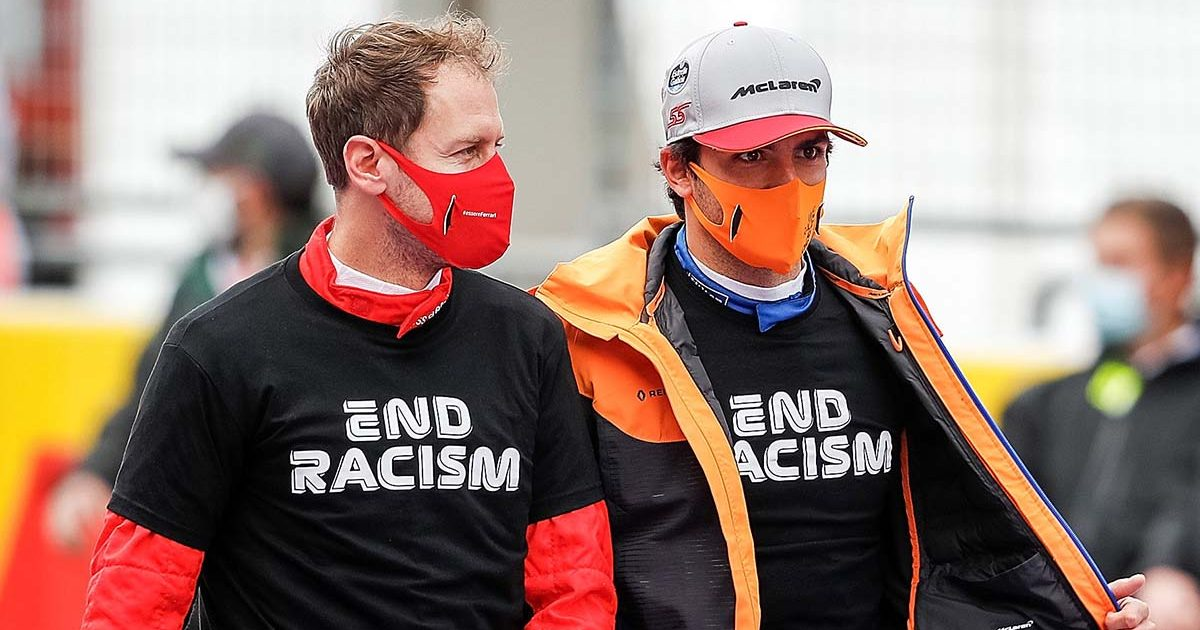 Sebastian Vettel Carlos Sainz