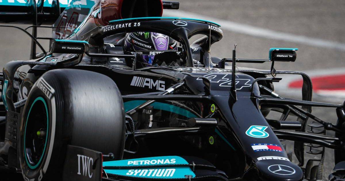 Sir Lewis Hamilton Mercedes W12