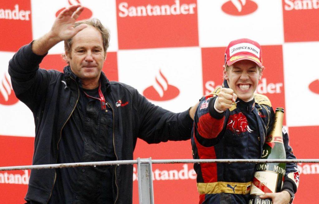 Gerhard Berger Sebastian Vettel