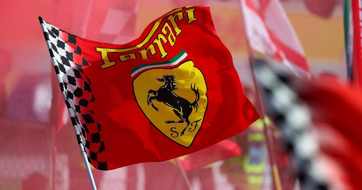 Ferrari flag talian GP,