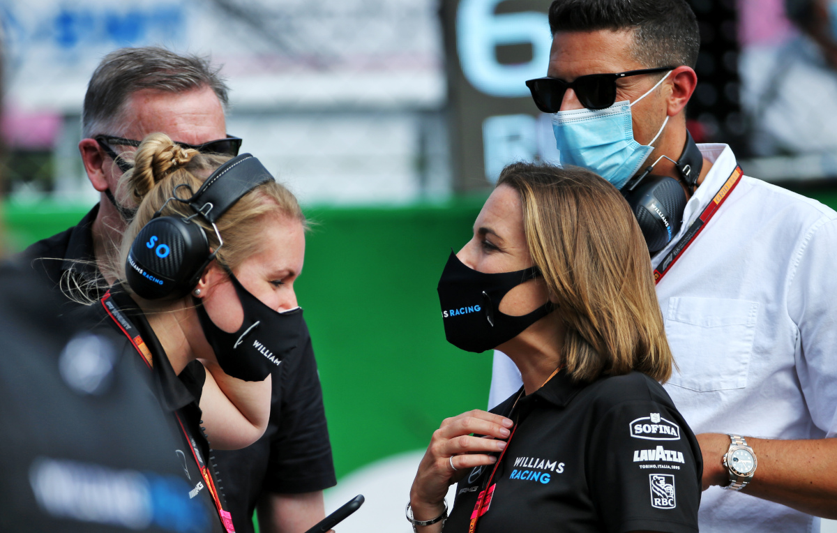 Marc Harris and Claire Williams