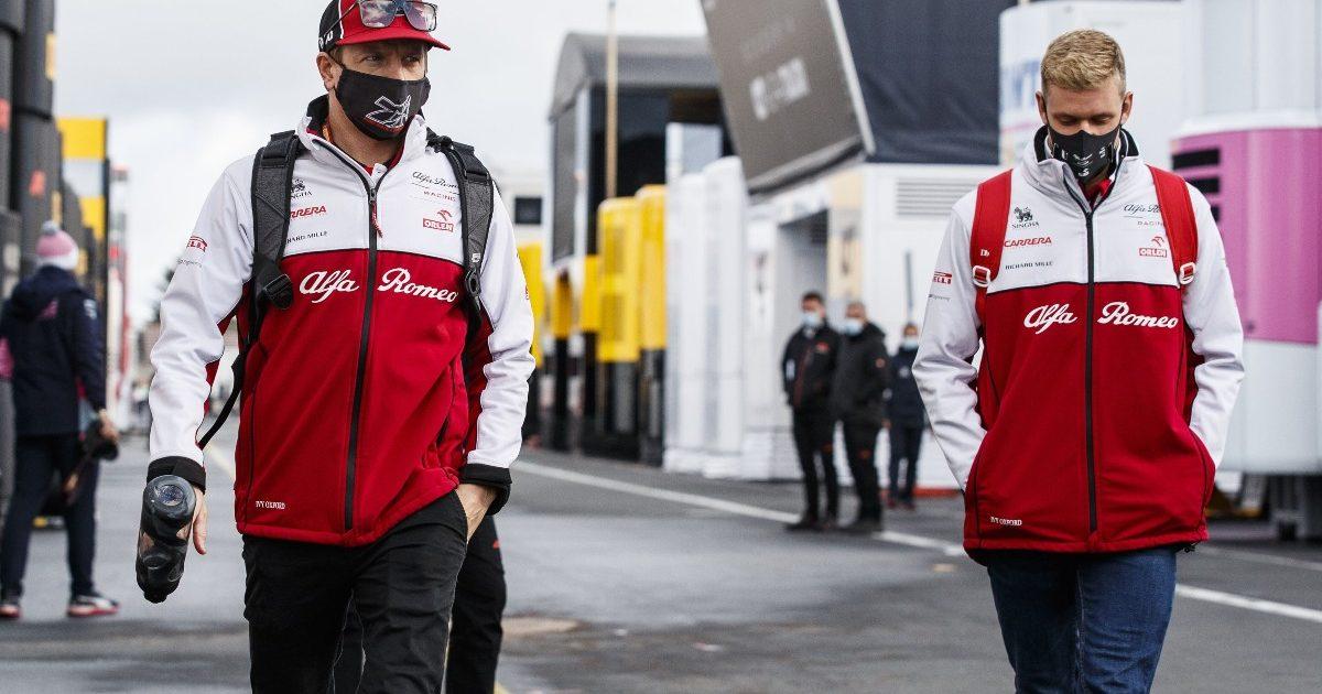 Kimi Raikkonen Mick Schumacher