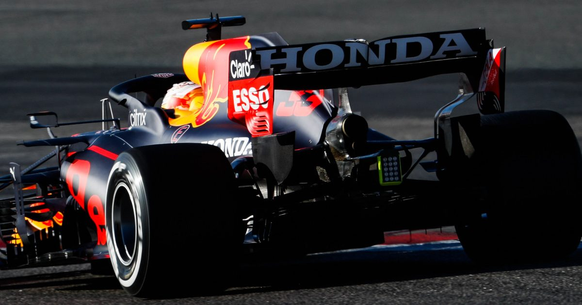 Max Verstappen Red Bull RB16B Honda
