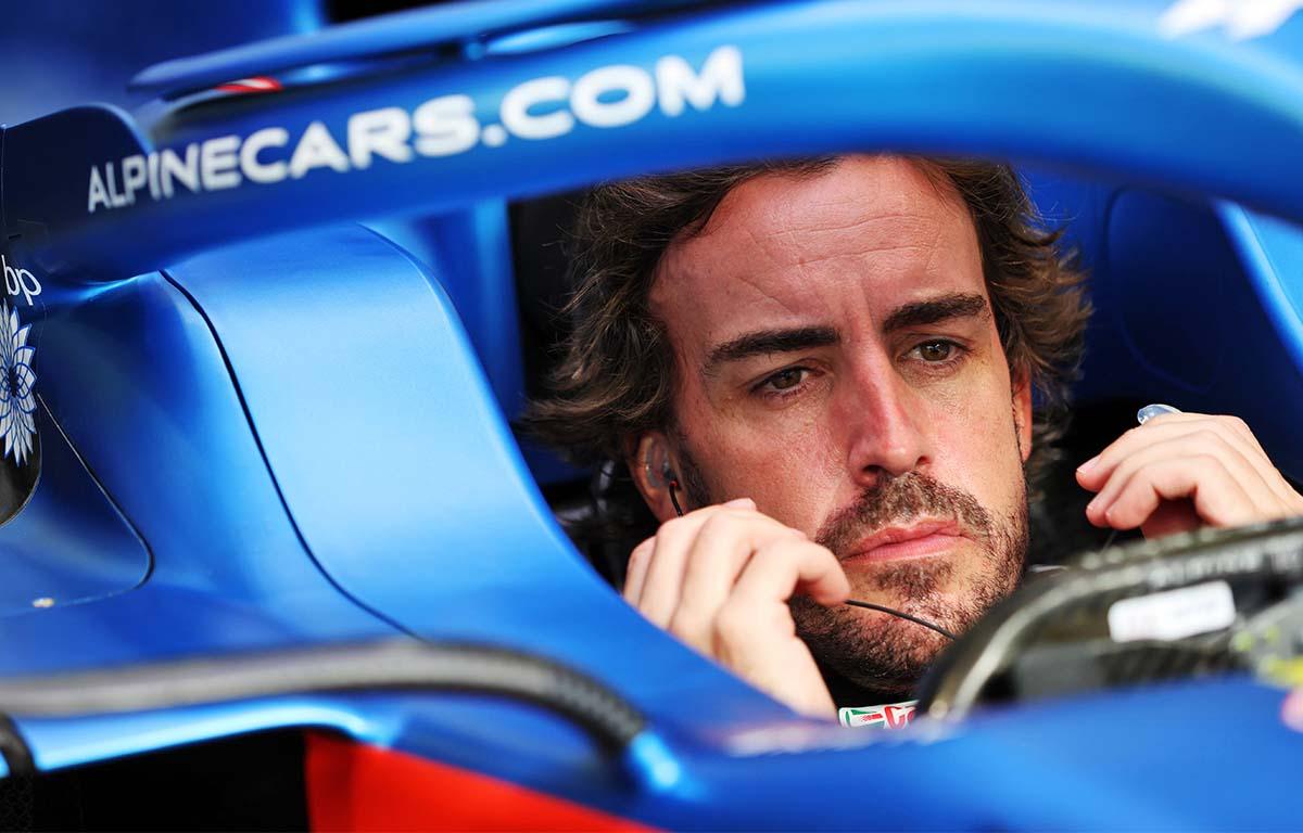 Fernando Alonso Alpine PA