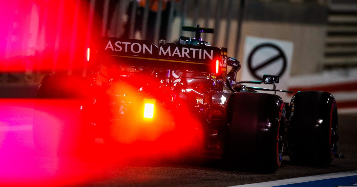 Aston Martin brake light