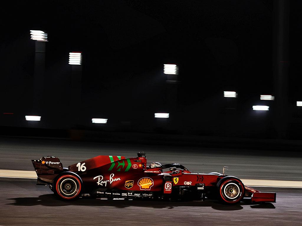 Charles Leclerc Ferrari PA
