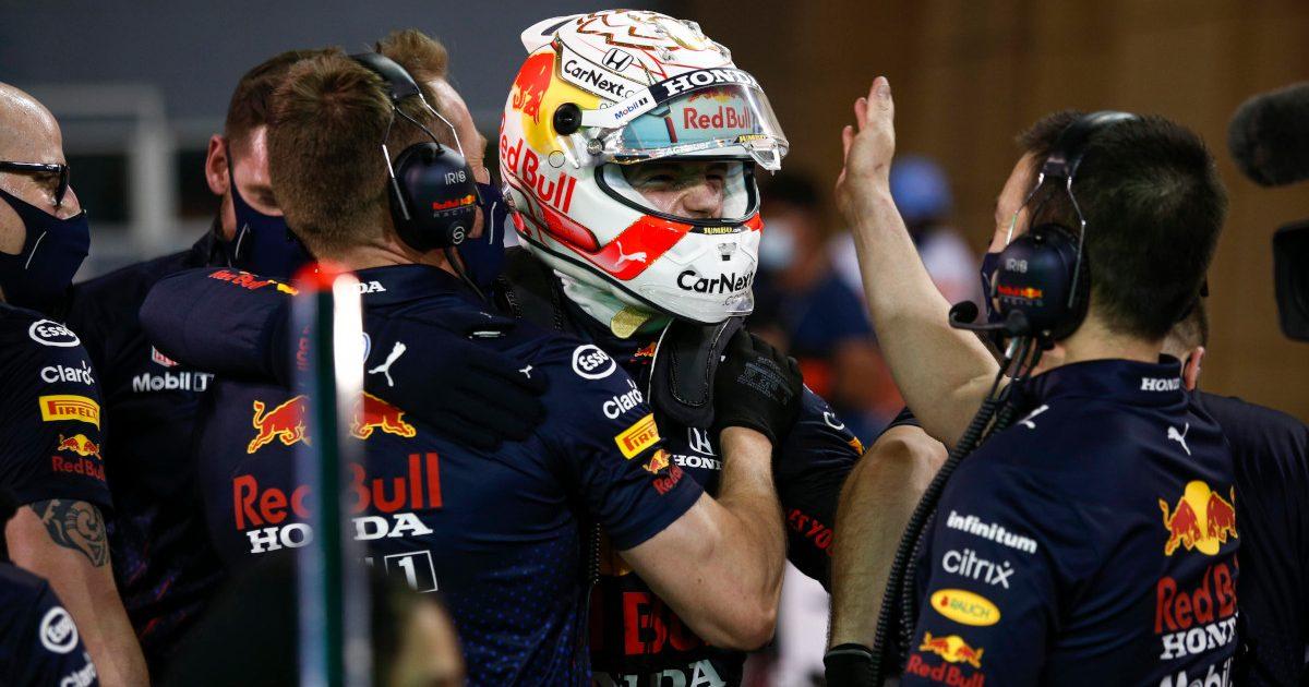 Max Verstappen celebrate