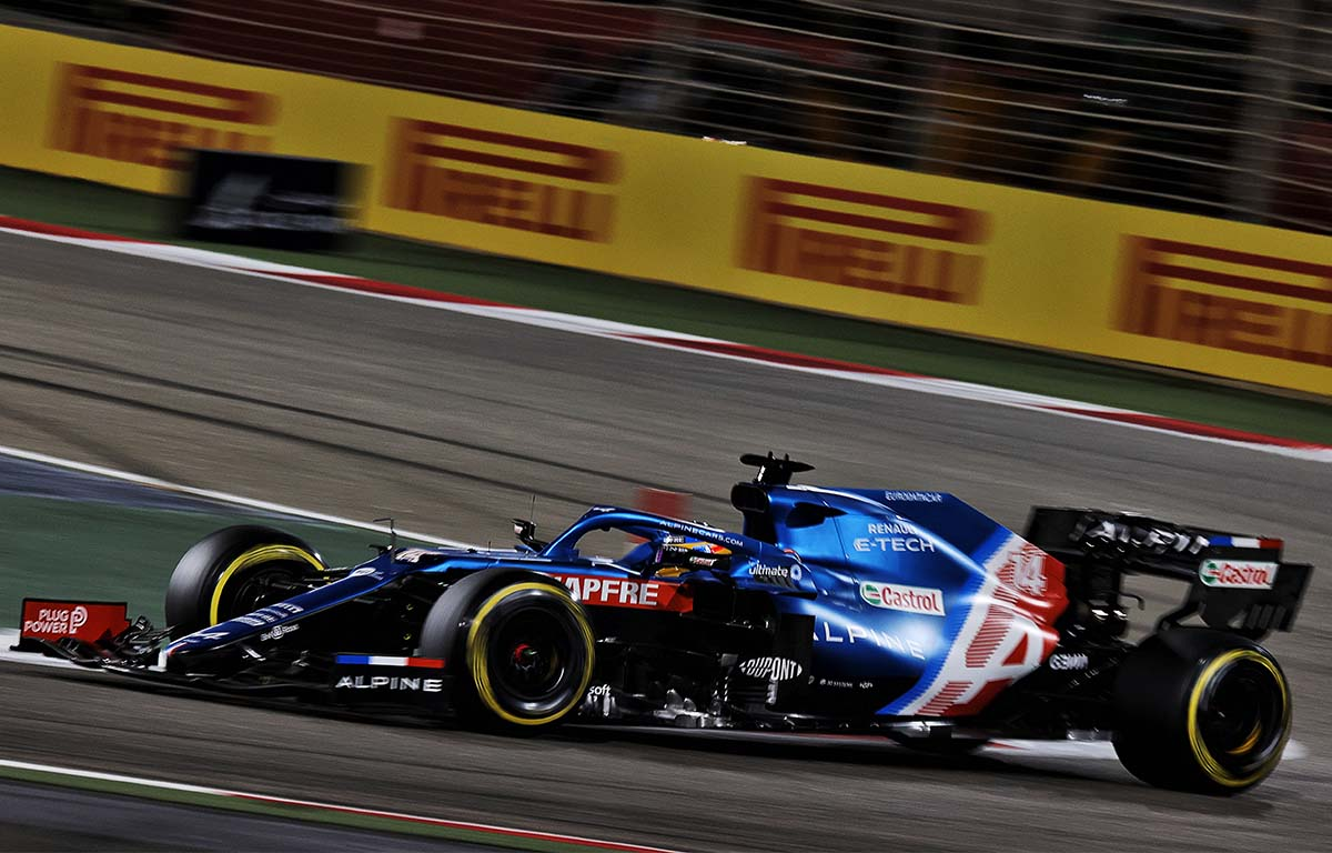 Fernando Alonso Bahrain Alpine PA