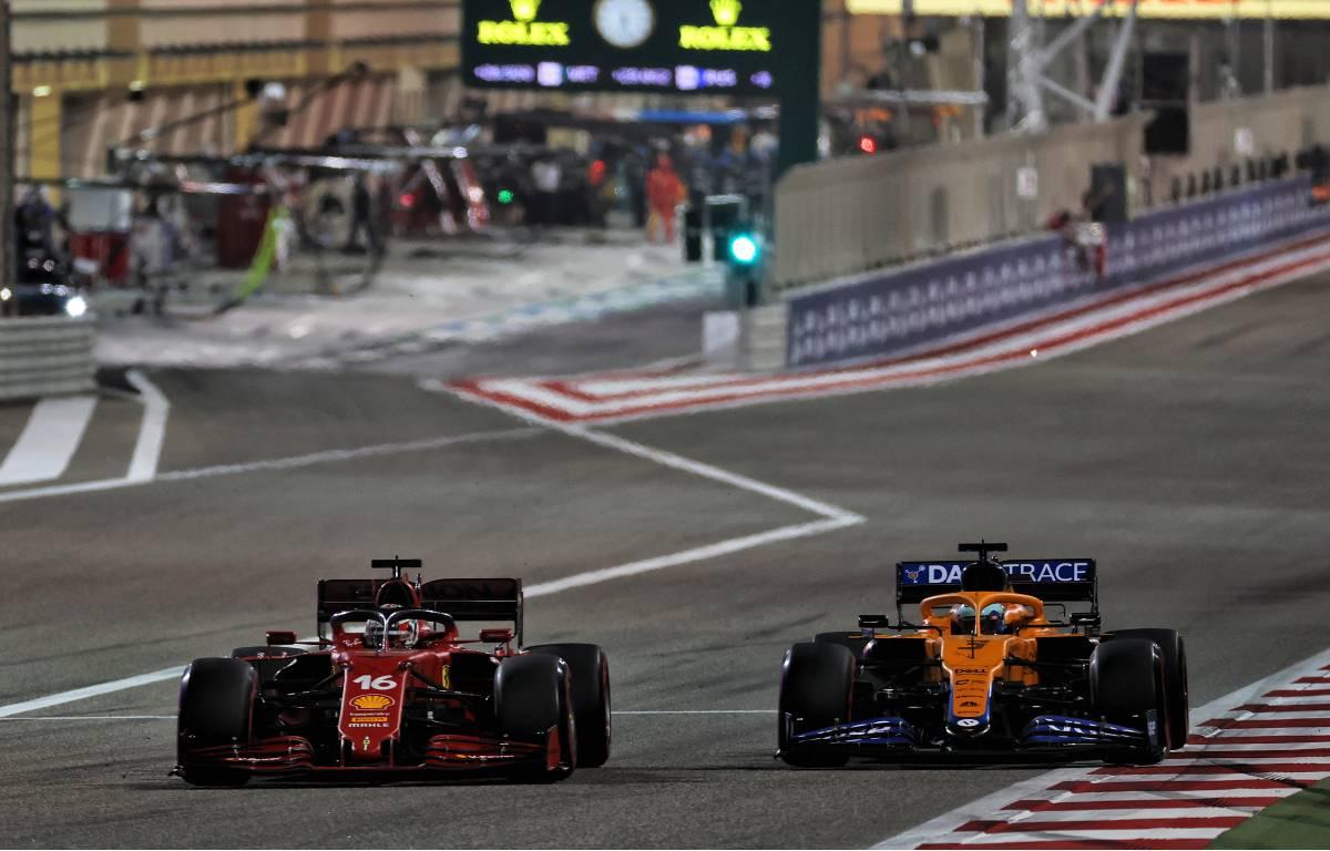 Charles Leclerc Ferrari, Daniel RicciardoMcLaren