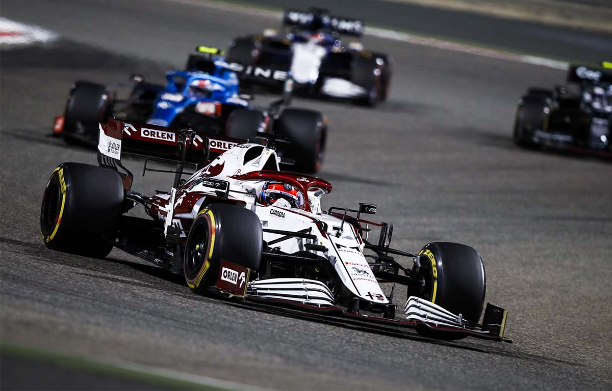Kimi Raikkonen Bahrain PA