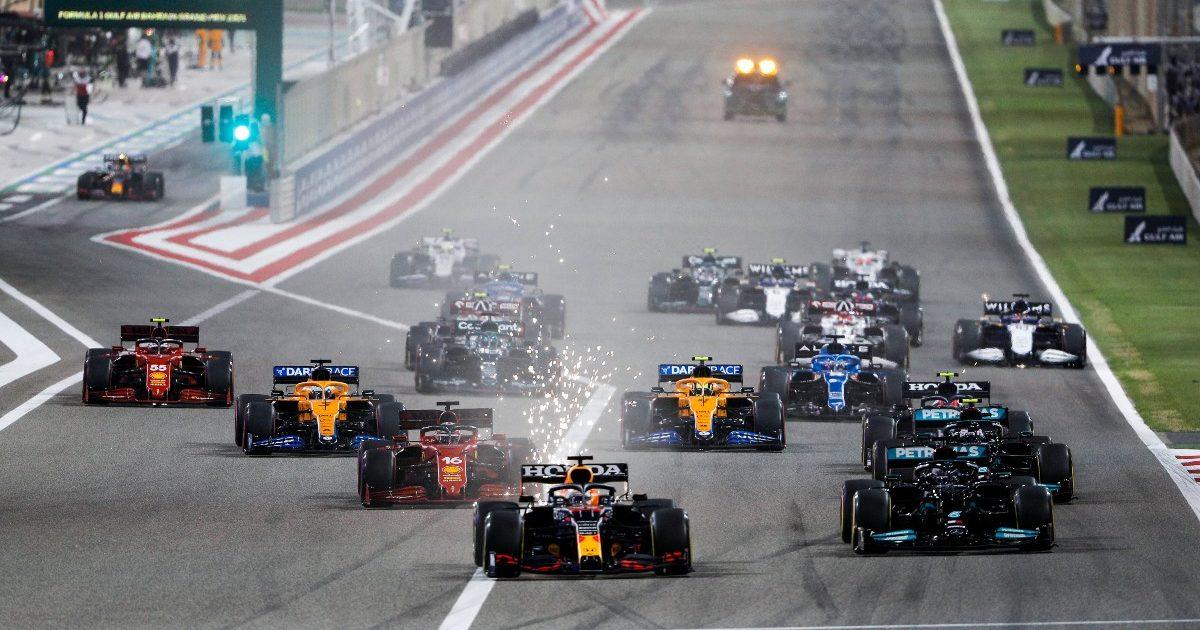 Bahrain Grand Prix start