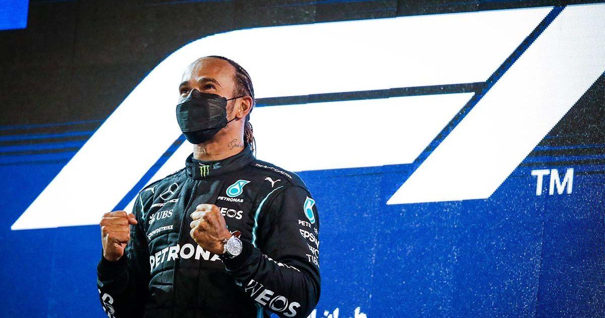 Lewis Hamilton Mercedes PA