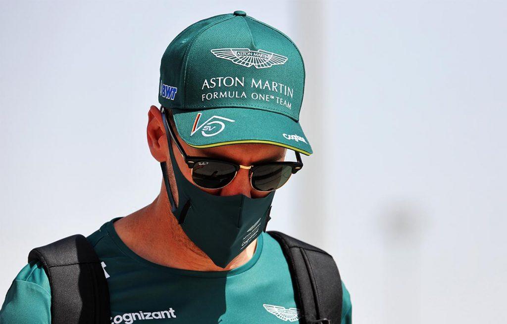 Sebastian Vettel Aston Martin PA