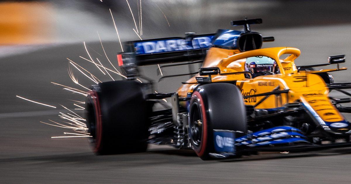 Daniel Ricciardo McLaren sparks