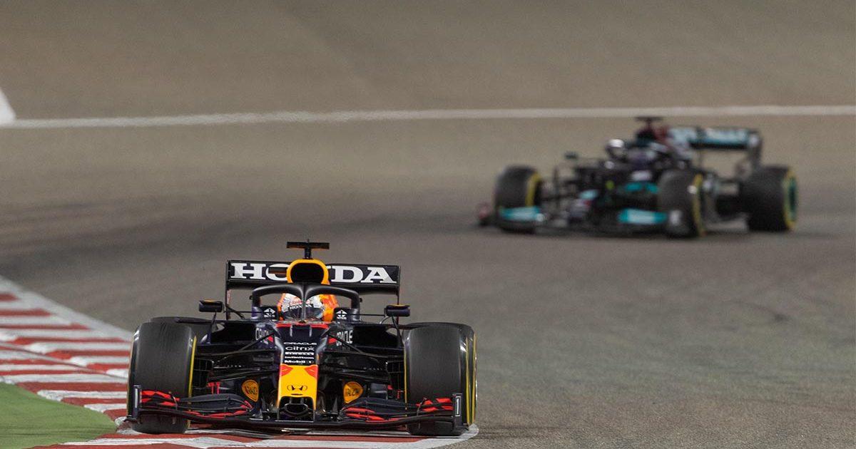 Max Verstappen, Lewis Hamilton, Mercedes, Red Bull Bahrain PA