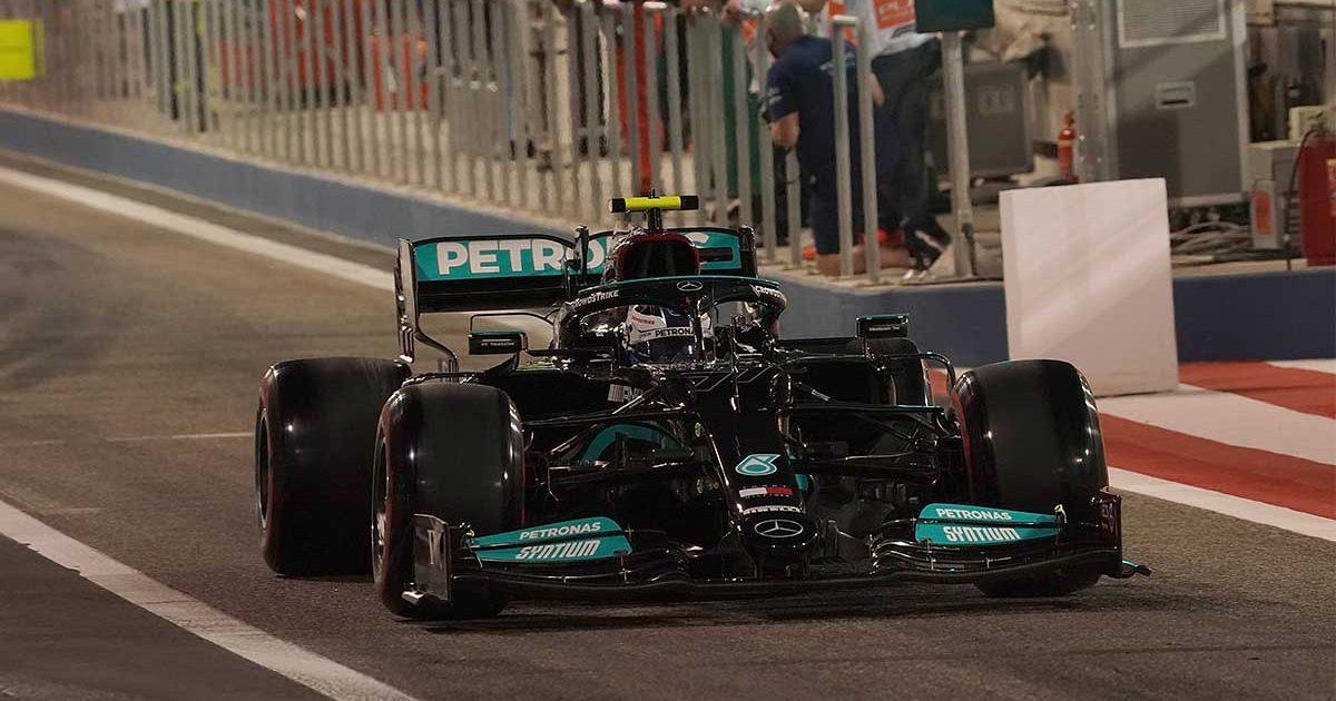 Valtteri Bottas Mercedes PA