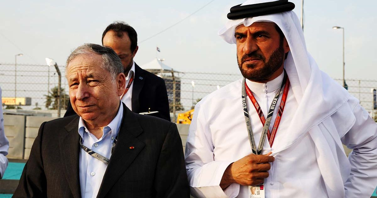 Jean Todt Mohammed ben Sulayem PA