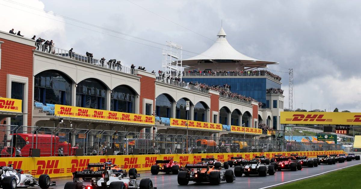 2020 Turkish Grand Prix grid