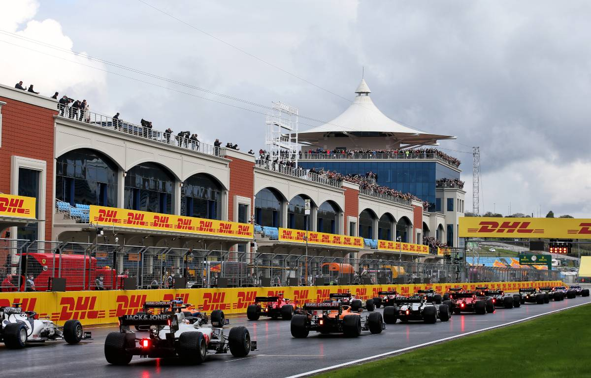 2020 Turkish Grand Prix grid