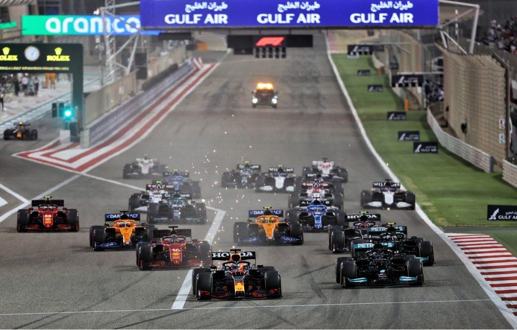 2021 Bahrain Grand Prix start