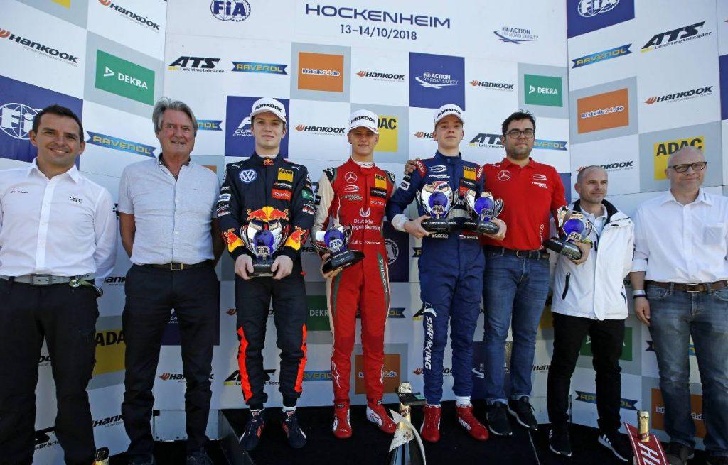 Dan Ticktum, Mick Schumacher, Robert Shwartzman