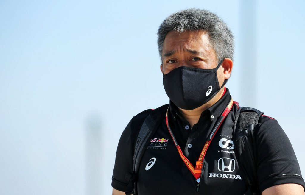 Masashi Yamamoto, MD of Honda F1