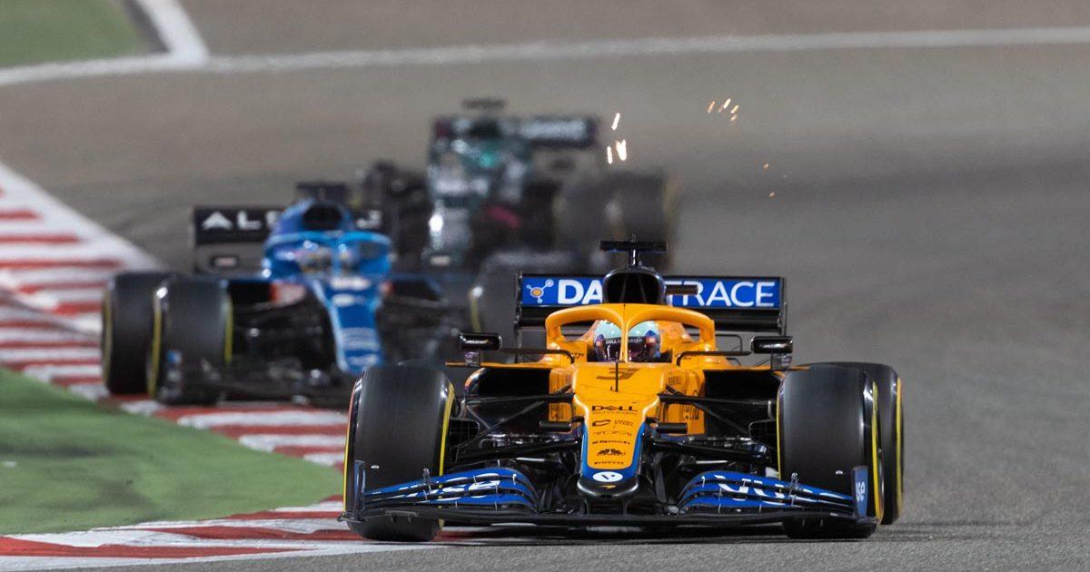 Daniel Ricciardo, McLaren, Bahrain Grand Prix 2021