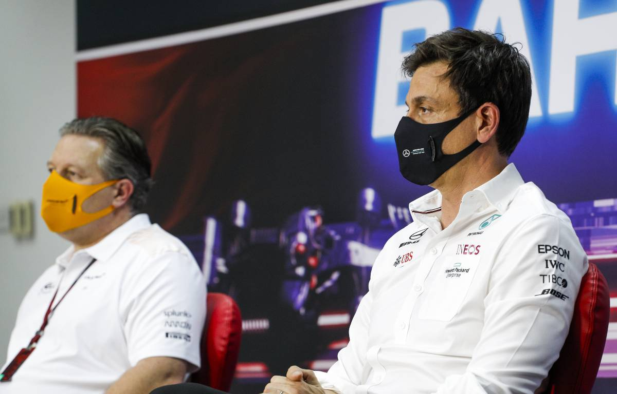 """Toto Wolff 'spreads sh * t' real """"misunderstanding"""""""