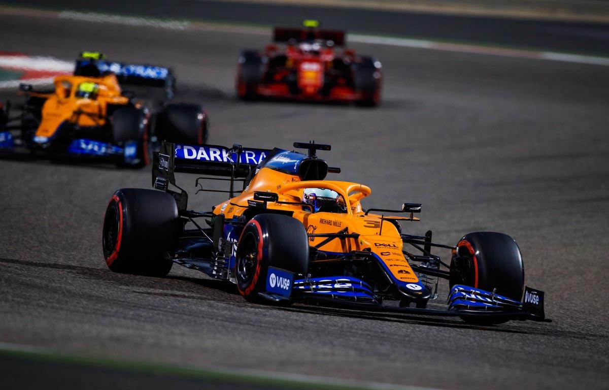 Daniel Ricciardo, Lando Norris, McLaren Bahrain 2021