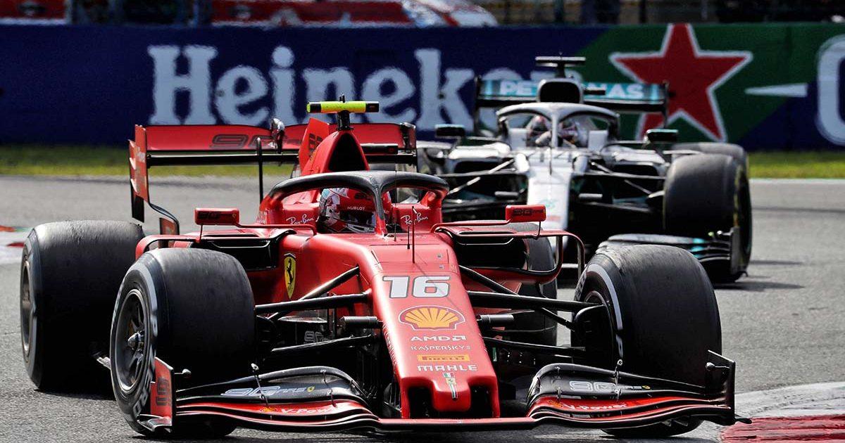 Charles Leclerc Ferrari SF90