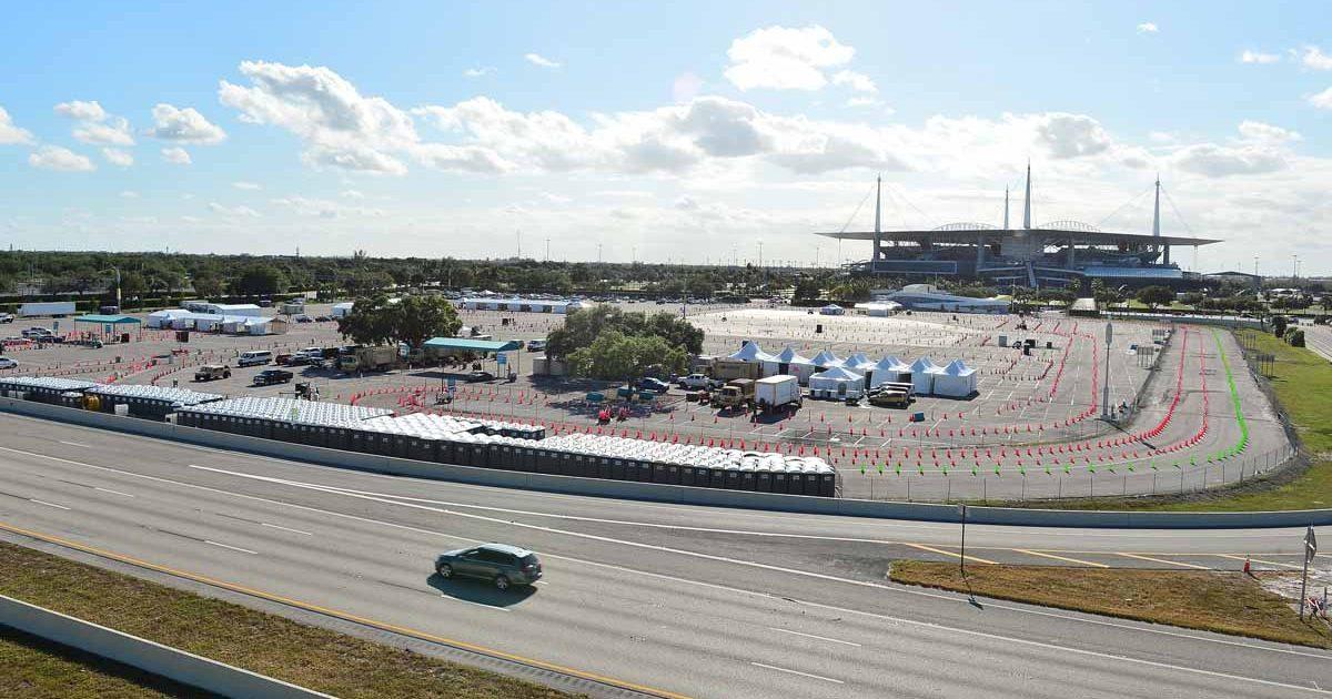 Miami GP Hard Rock Stadium
