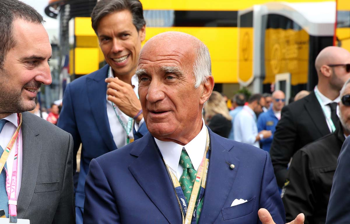 Angelo Sticchi Damiani, Rome Grand Prix