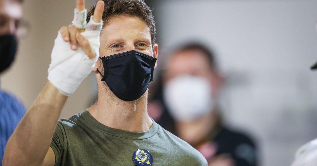 Romain Grosjean, paddock return, F1