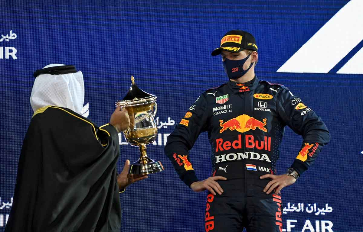 Max Verstappen, 2nd place Bahrain 2021 track limits