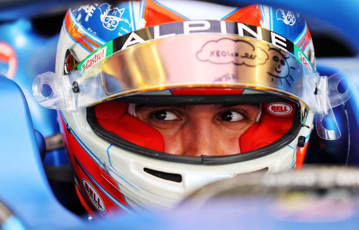 Esteban Ocon, Alpine, Bahrain Grand Prix 2021