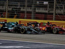 Charles Leclerc, Sebastian Vettel, Aston Martin, Ferrari