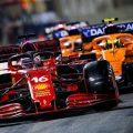 Charles Leclerc and McLaren