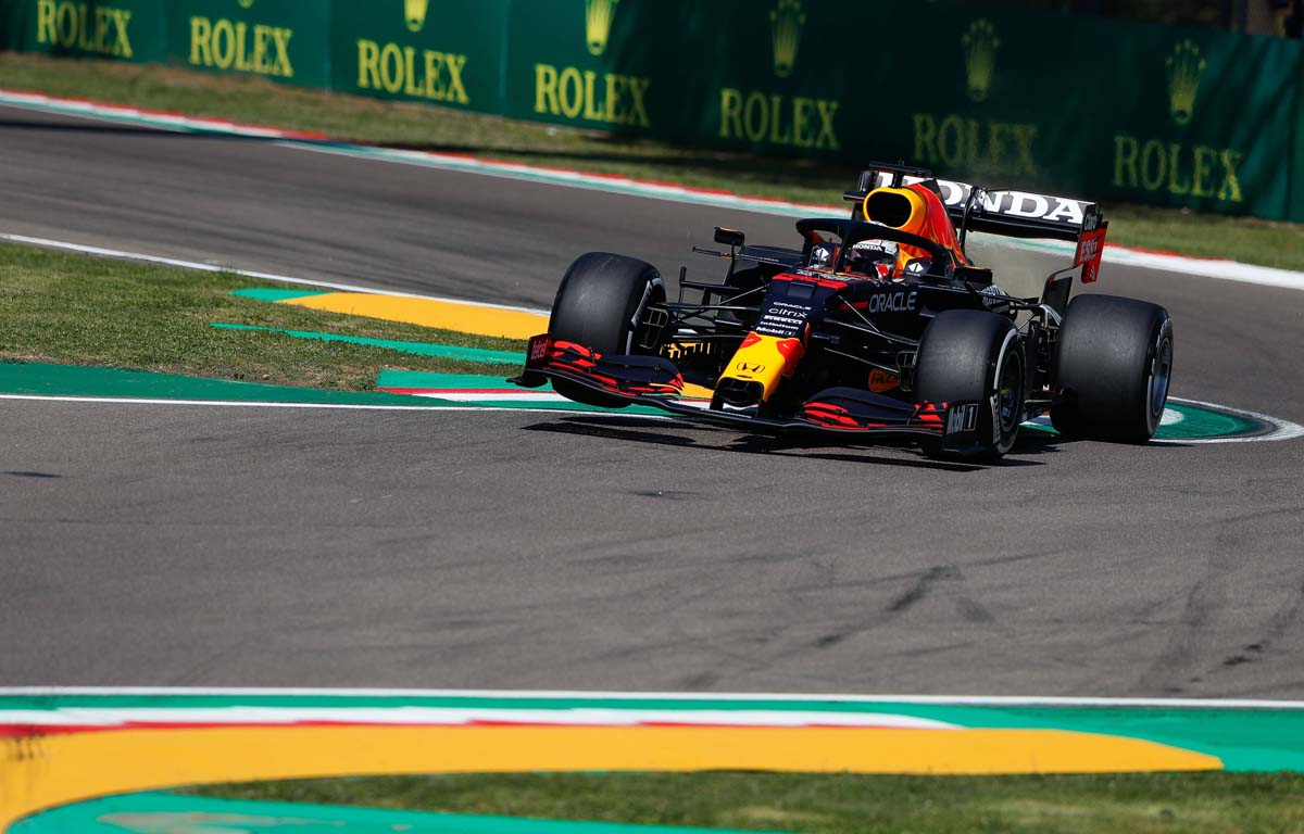 Max Verstappen's FP2 session over in first 10 minutes at Imola
