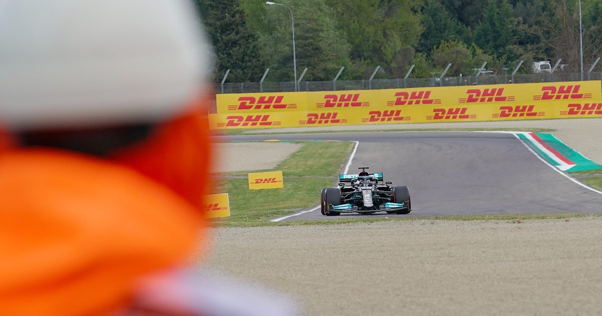 Lewis Hamilton marshal