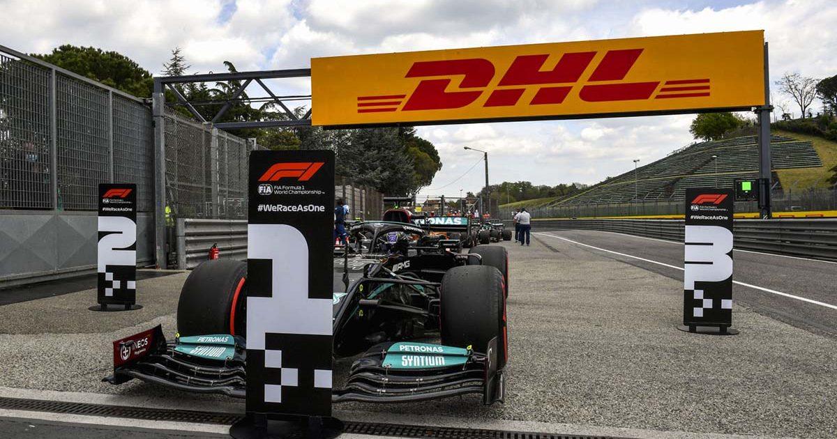 Lewis Hamilton Imola pole