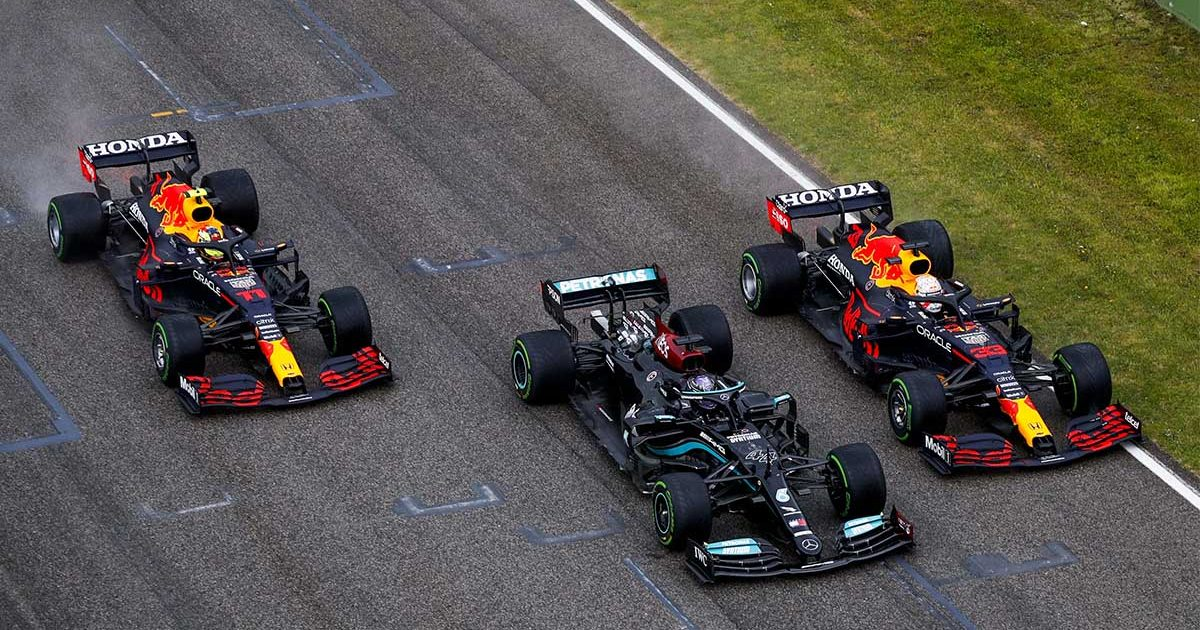 Red Bull Mercedes Imola PA
